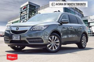 Used 2015 Acura MDX Tech at Accident Free| Navigation| DVD for sale in Thornhill, ON