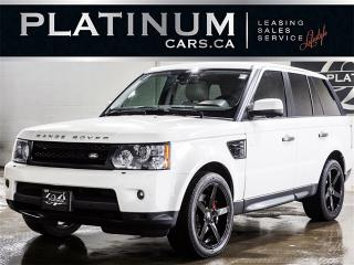 Used 2010 Land Rover Range Rover Sport HSE, NAVI, CAM, SUNROOF, REAR ENTERTAINMENT for sale in North York, ON