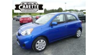 Used 2015 Nissan Micra SV for sale in East broughton, QC