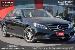 Used 2016 Mercedes-Benz E-Class CLean CarProof|Bluetooth|Sunroof for sale in Pickering, ON