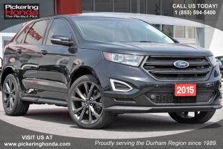 Used 2015 Ford Edge Sport Clean CarProof|Navigation|Panoramic Sunroof for sale in Pickering, ON