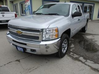 Used 2012 Chevrolet Silverado 1500 WORK READY LT MODEL 6 PASSENGER 5.3L - V8.. 4X4.. CREW.. 8-FOOT BOX.. CD/AUX INPUT.. TOW SUPPORT.. KEYLESS ENTRY.. for sale in Bradford, ON