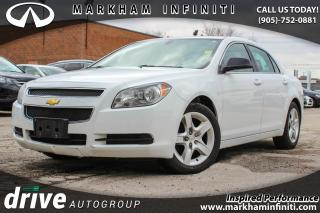 Used 2012 Chevrolet Malibu LS SUPER SAVER, LOW KILOMETERS for sale in Unionville, ON