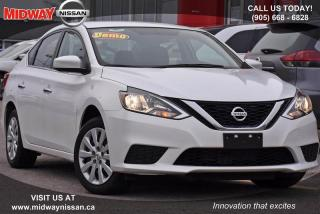 Used 2017 Nissan Sentra 1.8 S S - Cruise|Bluetooth|A/C for sale in Whitby, ON