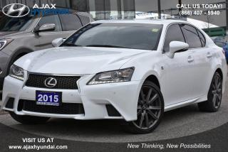Used 2015 Lexus GS 350 for sale in Ajax, ON