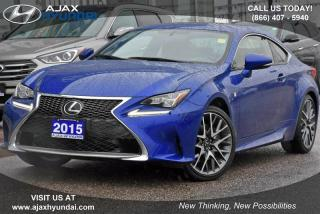 Used 2015 Lexus RC 350 for sale in Ajax, ON