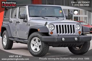 Used 2013 Jeep Wrangler UNLIMITED SPORT for sale in Pickering, ON