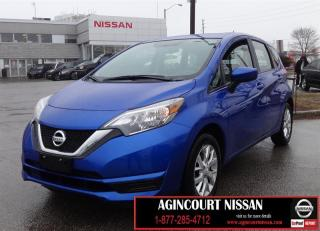 Used 2017 Nissan Versa Note 1.6 SV |BACK UP CAMERA|HEATED SEATS|ALLOYS|BLUETOOTH for sale in Scarborough, ON
