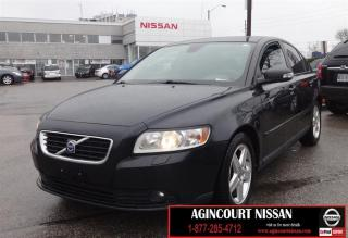 Used 2010 Volvo S40 2.4i MANUAL|LEATHER|SUNROOF for sale in Scarborough, ON