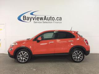 Used 2017 Fiat 500X Trekking - REM START! ALLOYS! SUNROOF! UCONNECT! for sale in Belleville, ON