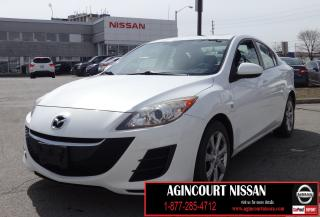 Used 2010 Mazda MAZDA3 GX SUNROOF|BLUETOOTH|CRUISE|AS-IS SUPERSAVER| for sale in Scarborough, ON