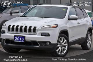 Used 2016 Jeep Cherokee Limited for sale in Ajax, ON