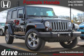 Used 2016 Jeep Wrangler Unlimited Sahara SAHARA | NAVIGATION | LOW KM! for sale in Scarborough, ON