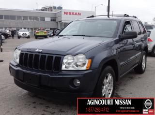 Used 2007 Jeep Grand Cherokee Laredo LAREDO 4X4|AS-IS SUPERSAVER for sale in Scarborough, ON