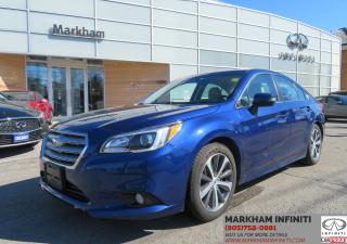 Used 2015 Subaru Legacy 2.5i Limited Package AWD, Navi, Leather, Sunroof for sale in Unionville, ON