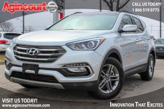 Used 2017 Hyundai Santa Fe Sport 2.4 SE |BLIND SPOT|LEATHER SEATS|HTD STEERING for sale in Scarborough, ON