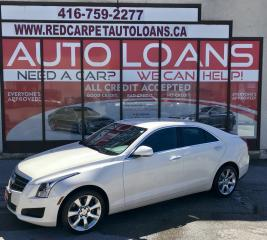 Used 2014 Cadillac ATS 2.0L Turbo Luxury ATS-ALL CREDIT ACCEPTED for sale in Scarborough, ON
