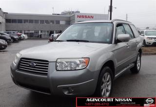 Used 2007 Subaru Forester |AS-IS SUPERSAVER| for sale in Scarborough, ON