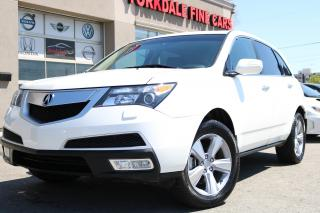 Used 2013 Acura MDX Elite Package 7 Pass. Navi. Camera. DVD. Original for sale in North York, ON