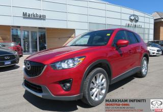 Used 2015 Mazda CX-5 GT Leather, Sunroof, Camera, Blind Spot Warning for sale in Unionville, ON