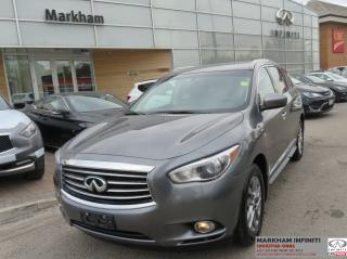 Used 2015 Infiniti QX60 Low Mileage, Sunroof, Camera for sale in Unionville, ON