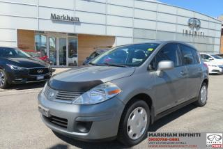 Used 2007 Nissan Versa 1.8S Super Saver, ASIS for sale in Unionville, ON