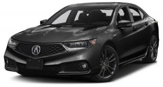 New 2018 Acura TLX Tech A-Spec 2.4L P-AWS w/Tech Pkg A-Spec for sale in Pickering, ON