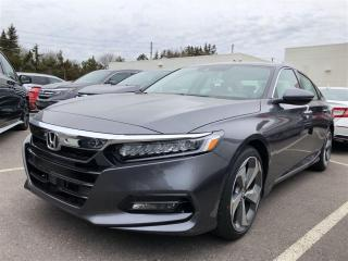 New 2018 Honda Accord Touring 2.0T Sedan 1.5T Touring CVT for sale in Pickering, ON