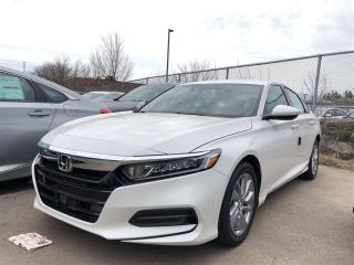 New 2018 Honda Accord Sedan 1.5T LX-HS CVT for sale in Pickering, ON