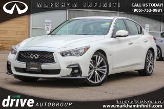 Used 2018 Infiniti Q50 3.0T Sport AWD for sale in Unionville, ON