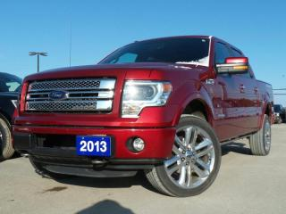 Used 2013 Ford F-150 *CPO* LIMITED 3.5L V6 2.9% APR FREE WARRANTY for sale in Midland, ON
