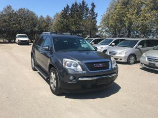 Used 2011 GMC Acadia SLT1 plus $200 for sale in Waterloo, ON