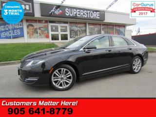 Used 2015 Lincoln MKZ Base  AWD  ROOF LEATHER NAV BS REAR-HS HTD-S/W PWR-TRUNK for sale in St Catharines, ON