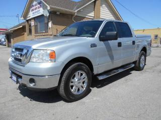 Used 2008 Ford F-150 XLT 4X4 Crew Cab 5.5Ft Box 5.4L V8 Certified for sale in Etobicoke, ON