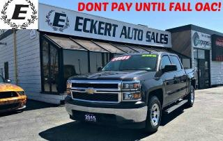 Used 2015 Chevrolet Silverado 1500 LS CREW CAB 4X4 WITH REVERSE CAMERA for sale in Barrie, ON