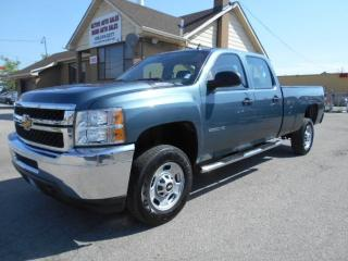 Used 2012 Chevrolet Silverado 2500 WT Crew Cab 8Ft Box Loaded 6.0L V8 ONLY 41,000KMs for sale in Etobicoke, ON
