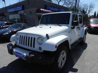 Used 2015 Jeep Wrangler Sahara Unlimited for sale in Windsor, ON
