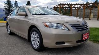 Used 2007 Toyota Camry HYBRID Sedan for sale in West Kelowna, BC