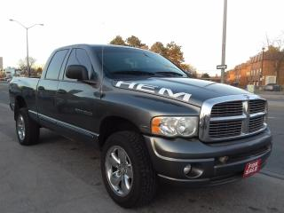 Used 2005 Dodge Ram DODGE RAM SLT $6988 CERTIFIED for sale in Scarborough, ON