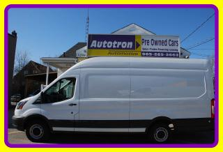 Used 2015 Ford TRANSIT-250 EXTENDED, High Roof, Loaded for sale in Woodbridge, ON