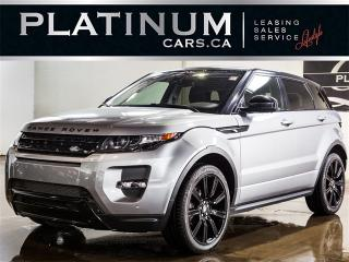 Used 2014 Land Rover Evoque DYNAMIC, NAVI, PANO, CAM, Meridian for sale in Toronto, ON