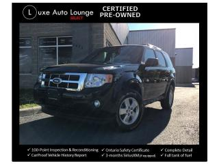 Used 2012 Ford Escape XLT V6 AWD, LEATHER, SUNROOF, HEATED SEATS! for sale in Orleans, ON