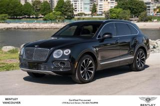 Used 2017 Bentley Bentayga W12 *Bentley Certified Pre-Owned! for sale in Vancouver, BC