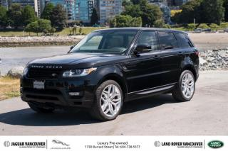 Used 2014 Land Rover Range Rover Sport V8 Supercharged Autobiography Dynamic (2) *Certified Pre-Owned! for sale in Vancouver, BC