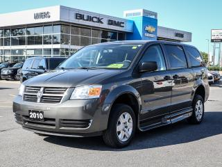 Used 2010 Dodge Grand Caravan MOBILITY VAN, POWER FOLD RAMP *ONLY 24712 KM* for sale in Ottawa, ON