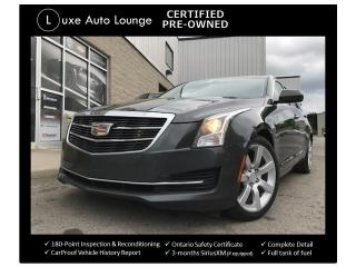 Used 2015 Cadillac ATS 2.5L, LEATHER, BOSE AUDIO, HEATED SEATS! for sale in Orleans, ON