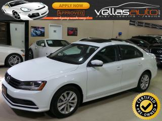 Used 2017 Volkswagen Jetta WOLFSBURG EDITION| SUNROOF| HEATED SEATS for sale in Woodbridge, ON