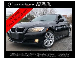 Used 2011 BMW 3 Series 323i 6-SPEED MANUAL! LEATHER HEATED SEATS, SUNROOF for sale in Orleans, ON