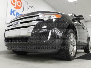 Used 2013 Ford Edge Limited AWD with NAV, sunroof, power heated leather seats, power liftgate and back up cam for sale in Edmonton, AB