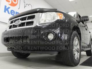 Used 2008 Ford Escape XLT V6 4WD with heated power leather seats and a sunroof. All for your convenience and pleasure for sale in Edmonton, AB